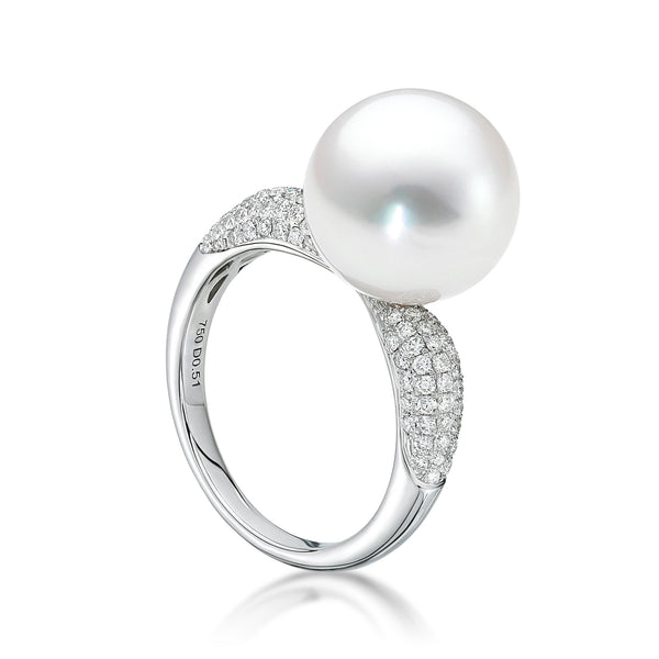 Avenue Slim Ring Diamonds