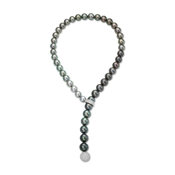 Tahitian Question Strand - Tahitian Pearl Necklace