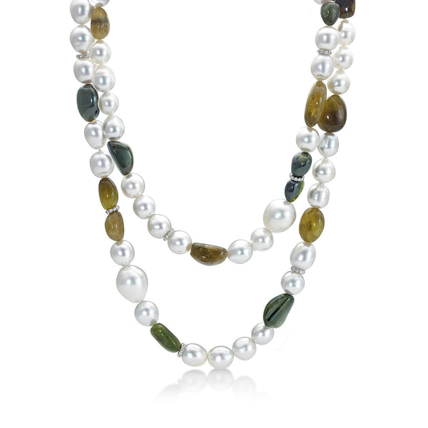 Resort Grand Green- Baroque pearl necklace