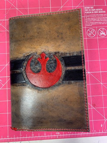 Rebel Scum Mini Padfolio - Leatherneck Leathercrafts
