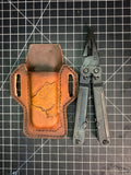 SOG Powerlock and Leather Bear Sheath - Leatherneck Leathercrafts