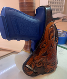 Custom Glock 19 USMC holster - Leatherneck Leathercrafts