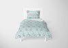 Image of Mermaid Pattern #5 - Toddler, Twin, Twin XL, Full, Queen - Comforter & Duvet