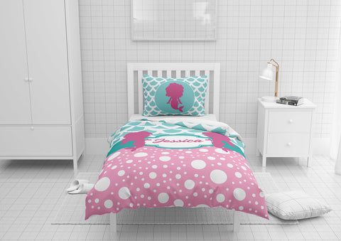 Mermaid Twins #8 - Toddler, Twin, Twin XL, Full, Queen - Comforter & Duvet
