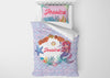 Image of Mermaid Circle of Life #9 - Toddler, Twin, Twin XL, Full, Queen - Comforter & Duvet