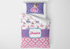 Image of Princess #1 Girls Comforter & Duvet Bedding Set-Twin,Twin XL,Full,Toddler,Queen