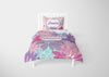 Image of Floral Princess #3 Girls Comforter & Duvet Bedding Set-Twin,Twin XL,Full,Toddler,Queen