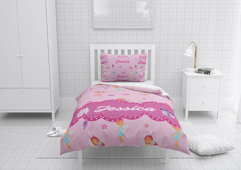 Fairy Princess #5 Girls Comforter & Duvet Bedding Set-Twin,Twin XL,Full,Toddler,Queen