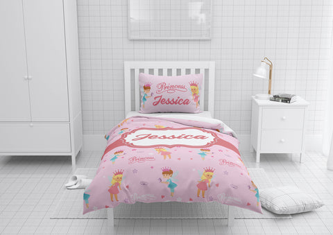 Lovely Princess #7 Girls Comforter & Duvet Bedding Set-Twin,Twin XL,Full,Toddler,Queen