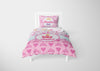 Image of Hearts & Jewelry Princess #9 Girls Comforter & Duvet Bedding Set-Twin,Twin XL,Full,Toddler,Queen