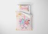 Image of Unicorn Eyes #1 Girls Comforter & Duvet Bedding Set-Twin,Twin XL,Full,Toddler,Queen