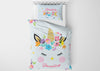 Image of Unicorn Horn #4 Girls Comforter & Duvet Bedding Set-Twin,Twin XL,Full,Toddler,Queen