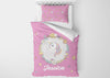 Image of Colorful Unicorn #5 Girls Comforter & Duvet Bedding Set-Twin,Twin XL,Full,Toddler,Queen