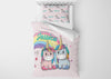 Image of Unicorn Brothers & Sisters #6 Girls Comforter & Duvet Bedding Set-Twin,Twin XL,Full,Toddler,Queen