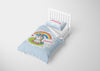 Image of Sparkle Shimmer Baby Unicorn #9 Girls Comforter & Duvet Bedding Set-Twin,Twin XL,Full,Toddler,Queen