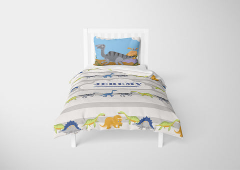 dinosaur bedding for boys in twin bedsize