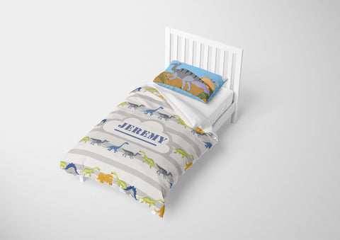 dinosaur bedding for boys in twin xl bedsize