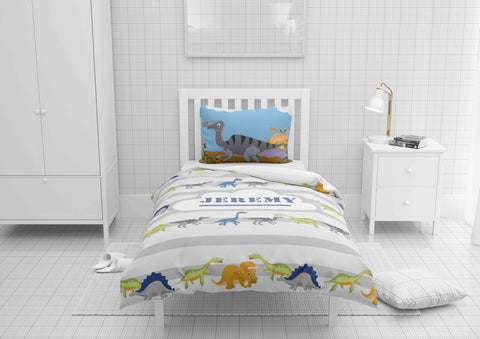 dinosaur bedding for boys in full bedsize
