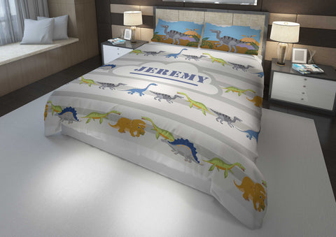dinosaur bedding for boys in king bedsize