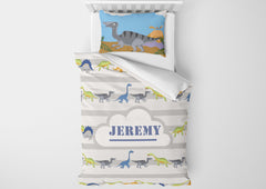 dinosaur bedding for boys in toddler bedsize