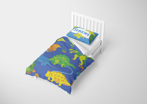 custom dinosaur twin xl bedding set with comforter