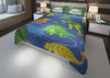 Image of custom dinosaur king bedding set with comforter