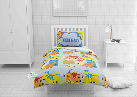 custom dinosaur boys bedding twin set and comforter