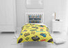 Image of personalize video game bedding set with comforter cover for full bed