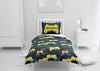 Image of custom video gaming comforter bedding set for twin xl bed