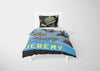 Image of personalized videogamer full comforter bedding set and duvet