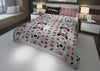 Image of personalized videogaming bedding set for boys king bed