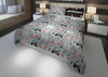 Image of personalized video gamer king bed set for boys