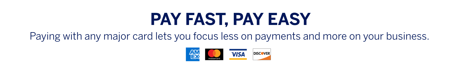 Pay Fast, Pay Easy