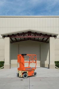 12 ft, Electric, Vertical Mast Lift For Rent