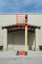 Load image into Gallery viewer, 12 ft, Electric, Vertical Mast Lift For Rent