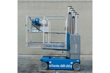 Load image into Gallery viewer, 20 ft, 2,000 lb, Electric, Vertical Mast Lift For Rent