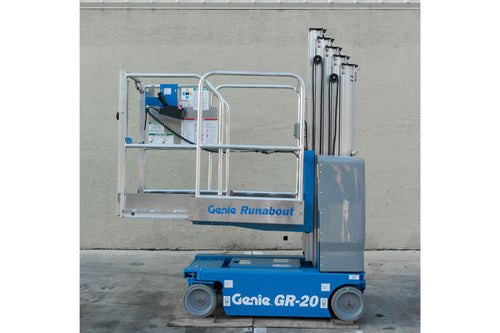 20 ft, 2,000 lb, Electric, Vertical Mast Lift For Rent