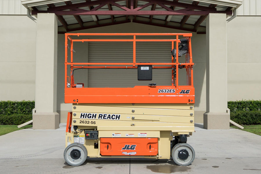 26 ft, Electric, Scissor Lift For Rent