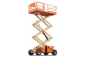 33 ft, Diesel, Dual Fuel, Engine Powered Scissor Lift For Sale