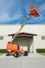 Load image into Gallery viewer, 40 ft, Gas/Diesel, Dual Fuel, Telescopic Boom Lift For Rent