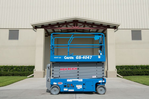 40 ft, Narrow Electric, Scissor Lift For Rent