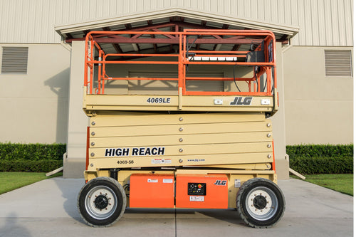 40 ft, Electric, Scissor Lift For Rent