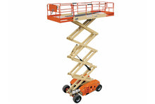 Load image into Gallery viewer, 43 ft, Gas/Diesel, Dual Fuel, Scissor Lift For Rent