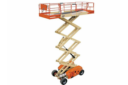 43 ft, Gas/Diesel, Dual Fuel, Scissor Lift For Sale