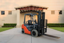 Load image into Gallery viewer, 5,000 lb, Dual Fuel, Industrial/Warehouse Forklift For Rent