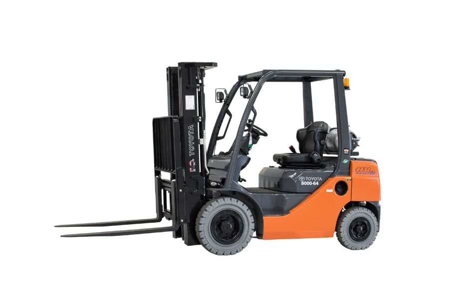5,000 lb, Duel Fuel, Industrial/Warehouse Forklift For Sale