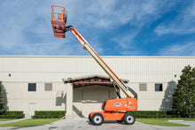 Load image into Gallery viewer, 60 ft, Gas/Diesel, Dual Fuel, Telescopic Boom Lift For Rent