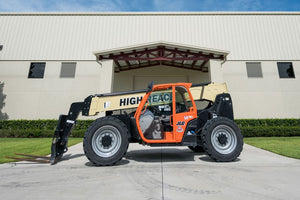 42 ft, 6,000 lb, Diesel, Telehandler For Rent