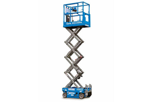 13 ft, 1,950lb, Electric, Scissor Lift For Rent
