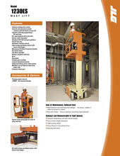 Load image into Gallery viewer, 12 ft, Electric, Scissor Lift For Sale